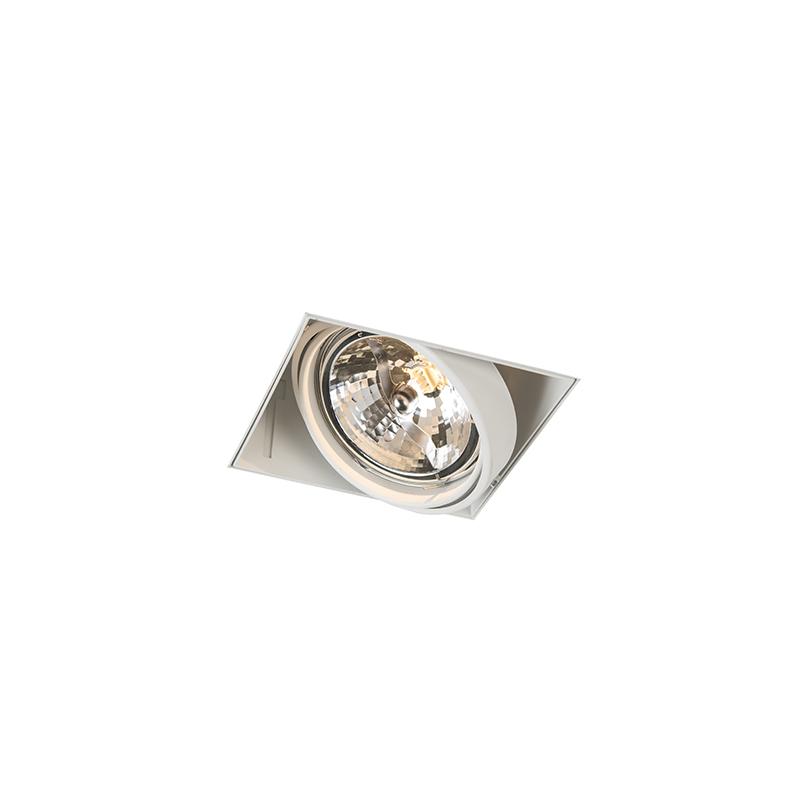 Inbouwspot wit draai- en kantelbaar trimless 1-lichts - Oneon 111-1