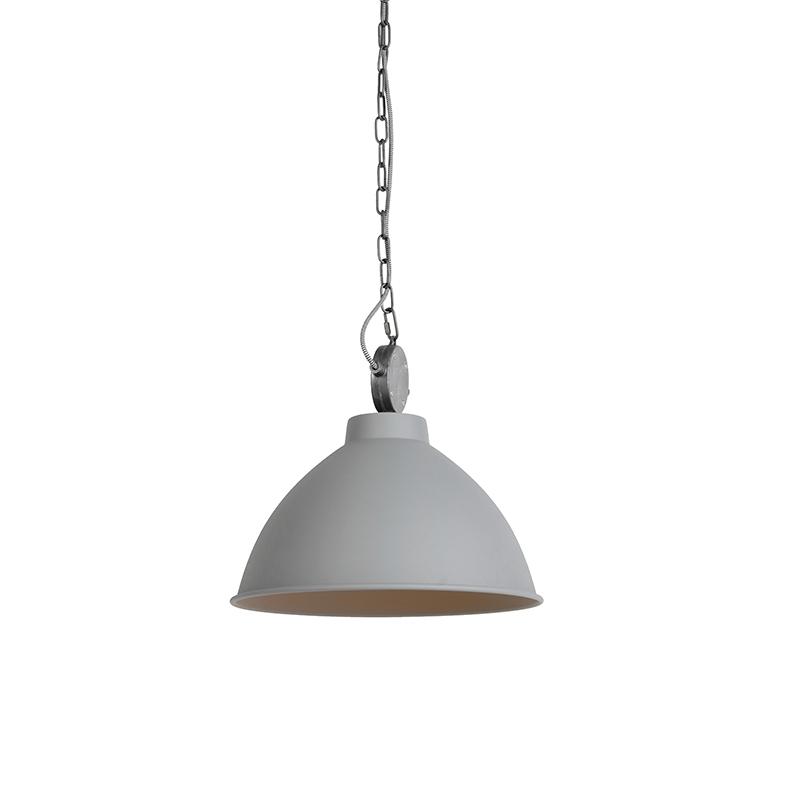 Set van 2 landelijke hanglampen grijs - Anterio 38