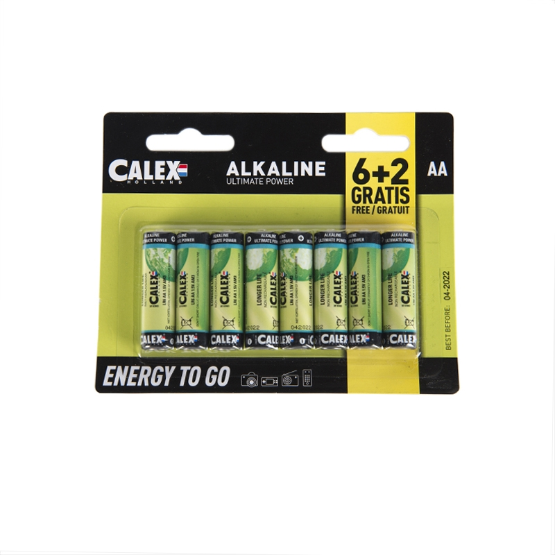 Zestaw 8 x bateria AA - Penlite Alkaline Longlife
