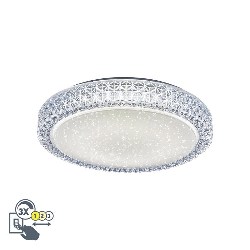 Retro plafondlamp helder wit - Roda