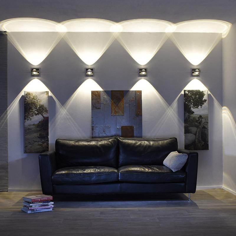 Wandlamp staal - Sash