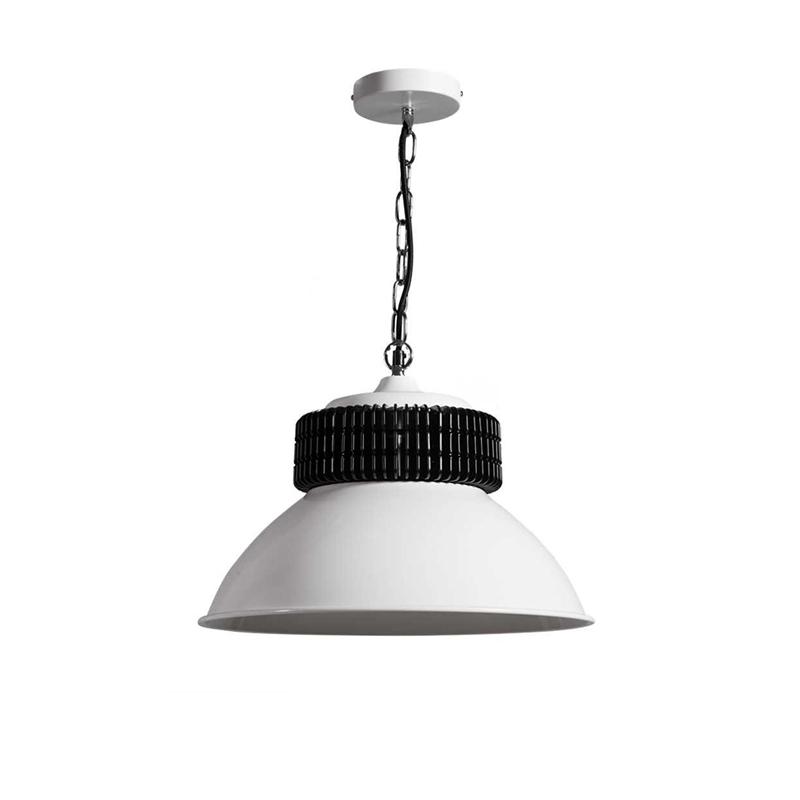 Industriele hanglamp wit - Gearbox