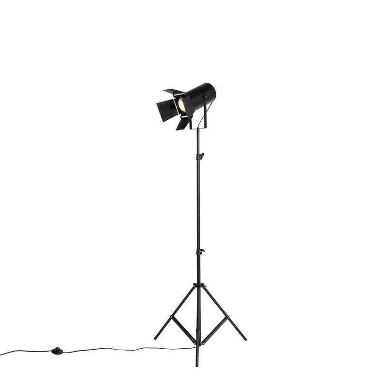 Vloerlamp 180cm zwart - Movie