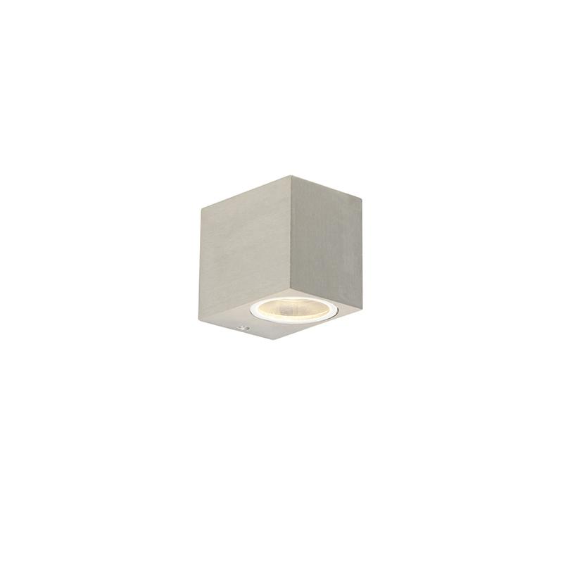 Set van 2 moderne wandlampen aluminium IP44 - Baleno I