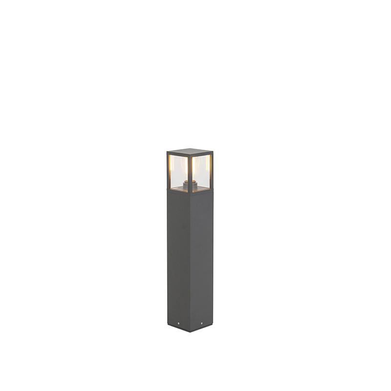 Moderne Rechthoekige Tuinpaal 65cm Donkergrijs - Zaandam