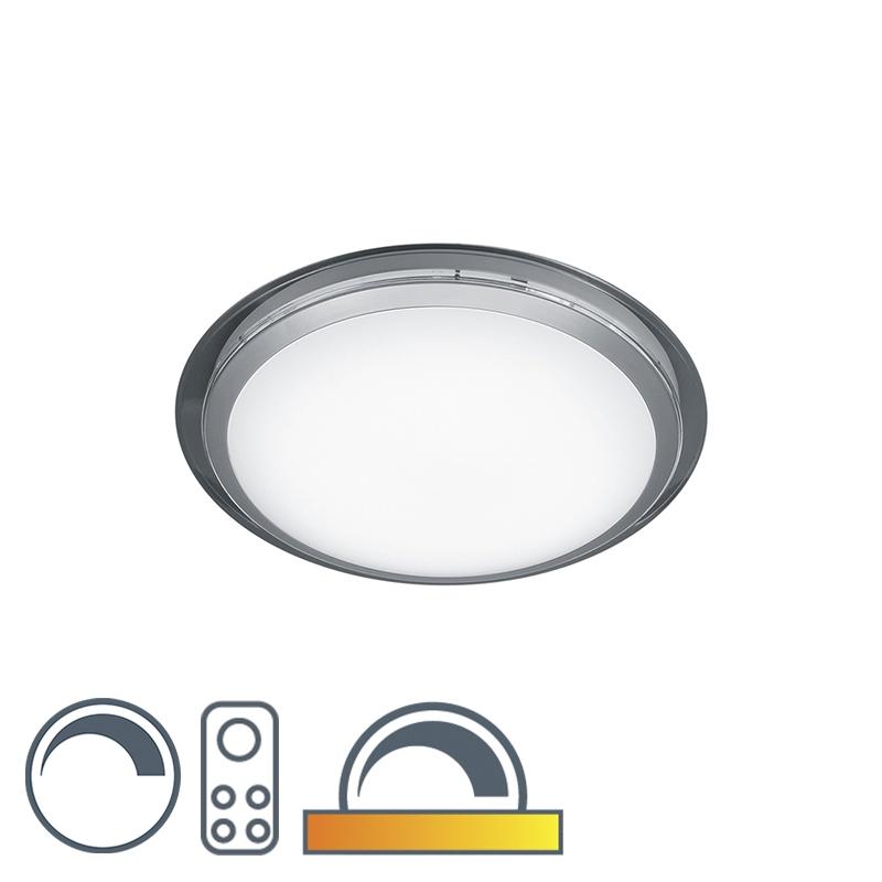 Moderne ronde plafondlamp helder incl. LED - Mizar