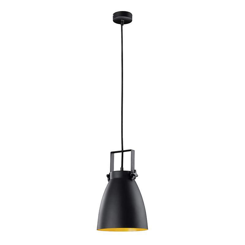Industriele ronde hanglamp zwart - Ratio