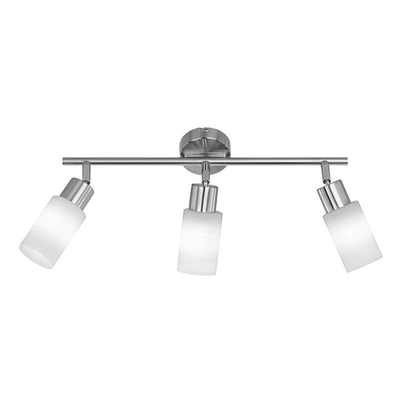 Moderne langwerpige spot staal incl. LED - Jones