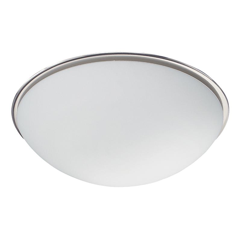 Moderne ronde plafondlamp wit - Bulto