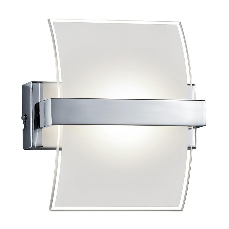 Moderne wandlamp chroom incl. LED - Colino
