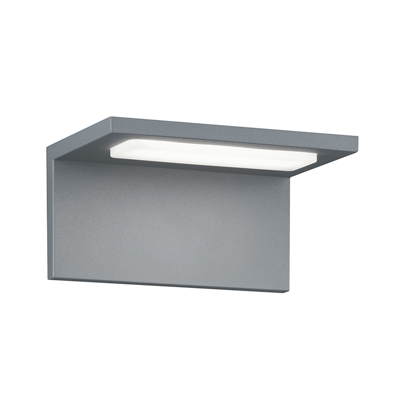 Moderne buitenwandlamp staal incl. LED - Trave