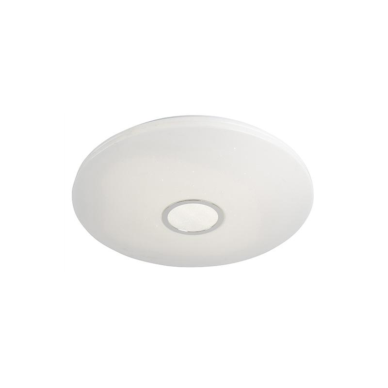 Plafondlamp wit 60 cm incl. LED 40W en afstandsbediening - Jona
