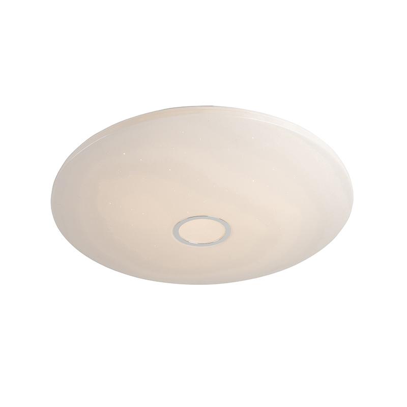 Plafondlamp wit 80 cm incl. LED 80W en afstandsbediening - Jona