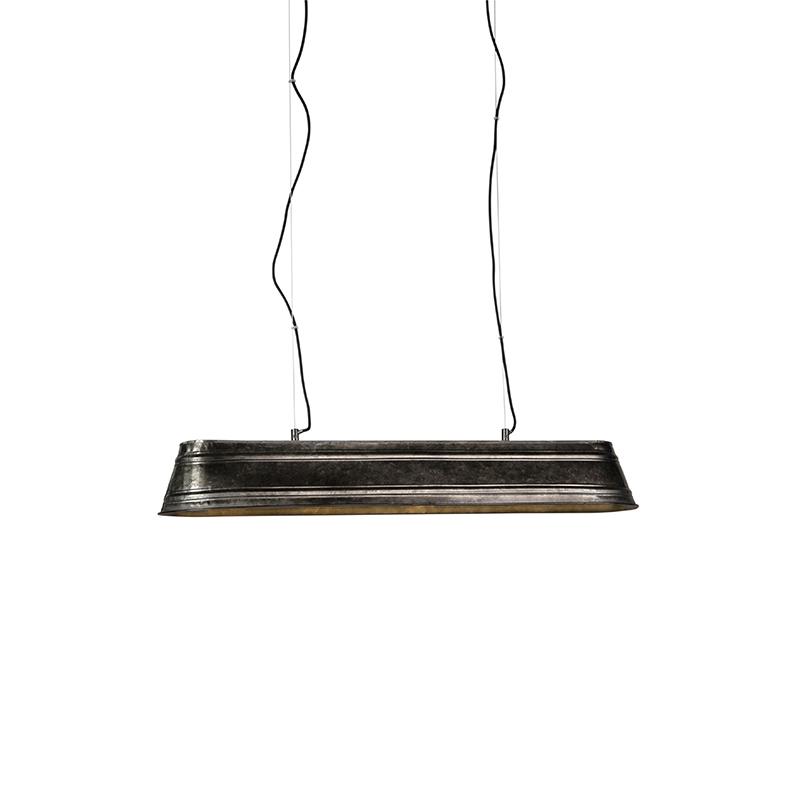 Przemysłowa lampa wisząca stal 4-lekka - Rynna
