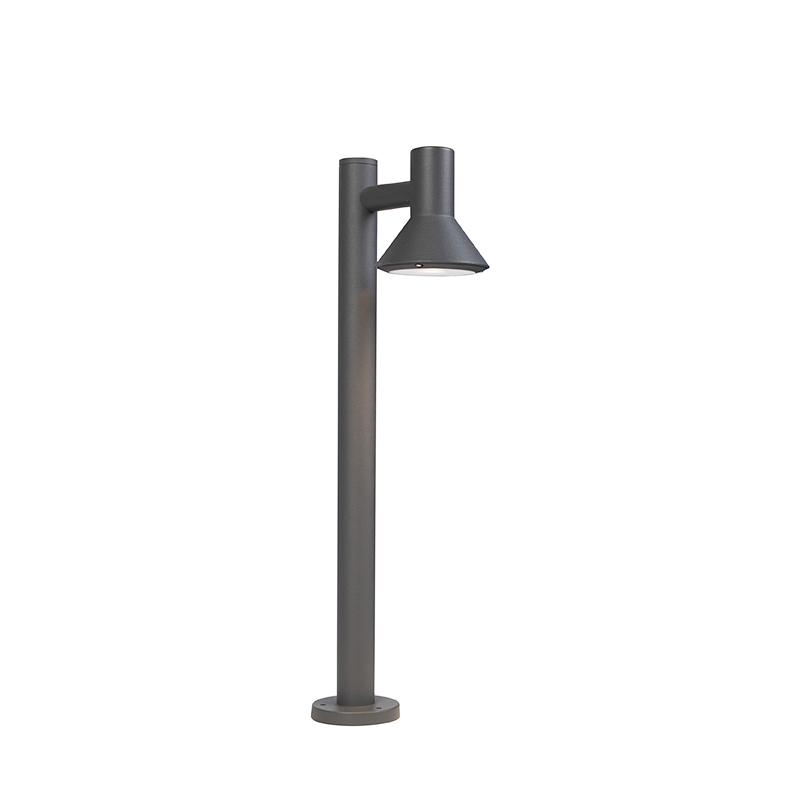 Moderne Staande Buitenlamp Donkergrijs 65cm - Humilis