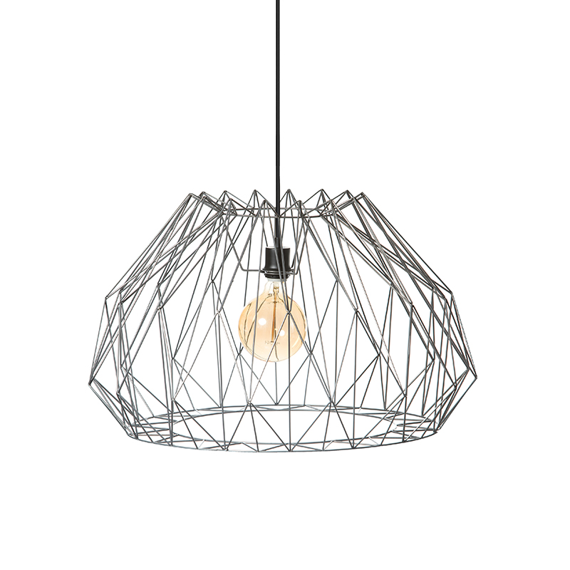 Design hanglamp staal 70cm - Maxima