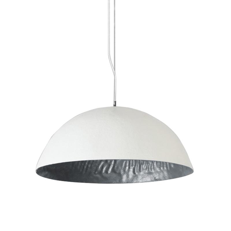 Hanglamp Mezzo Tondo 70cm Wit-Zilver