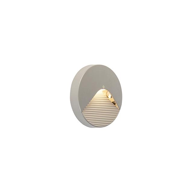Nowoczesny okrągły kinkiet zewnętrzny z diodami LED - Pod