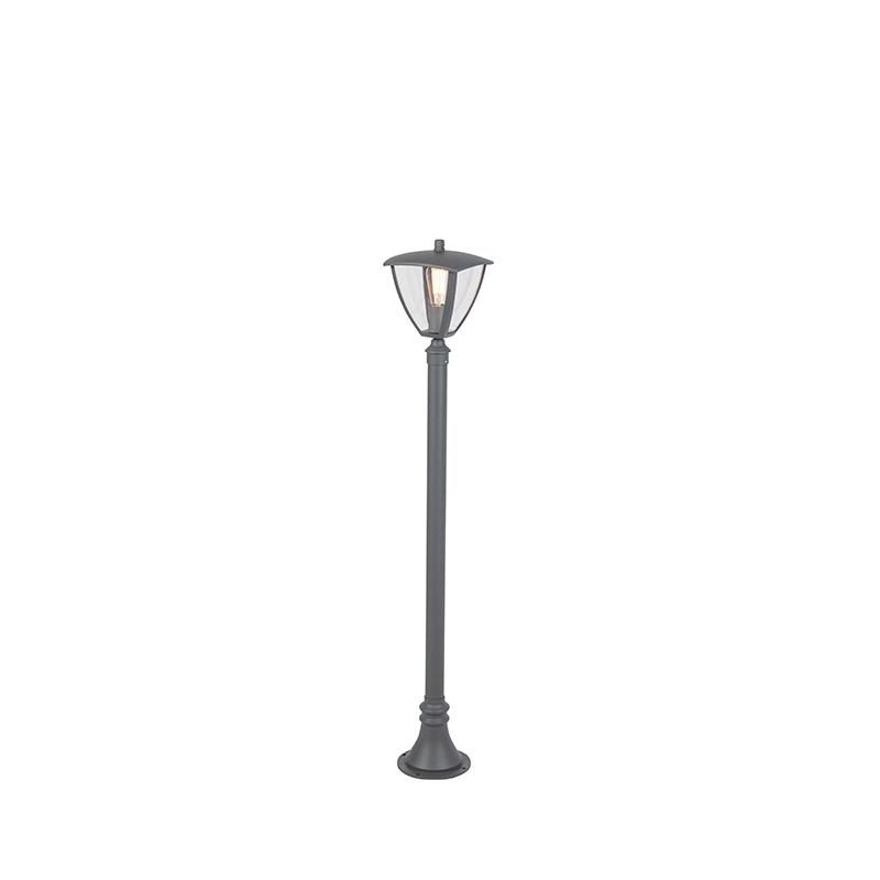 Moderne buitenlantaarn donkergrijs 135cm - Platar