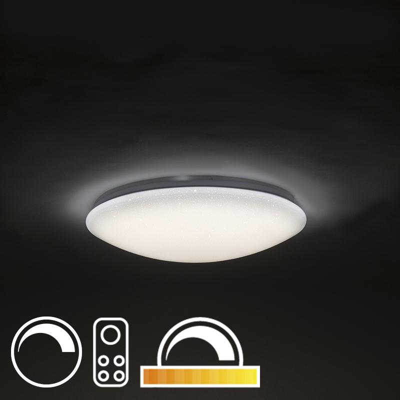 LED plafondlamp 47cm stereffect met afstandsbediening - Extrema