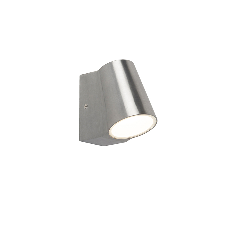 Moderne buitenwandlamp aluminium incl. LED - Uma