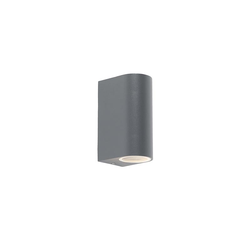 Moderne buitenwandlamp donker grijs - Ben 2