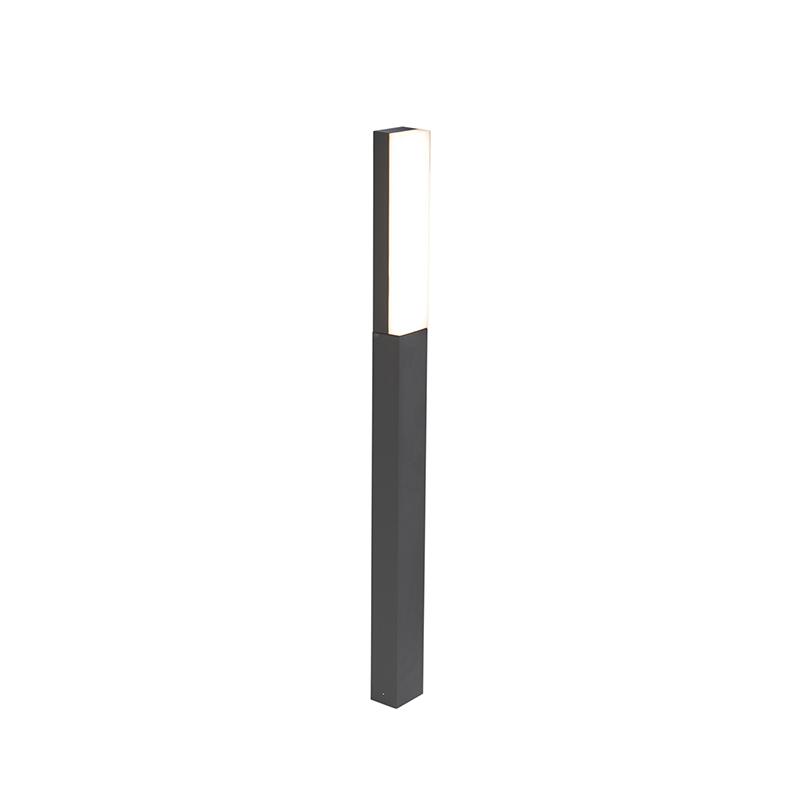 Nowoczesna lampa zewnętrzna ciemnoszara 90cm IP54 - Opacus