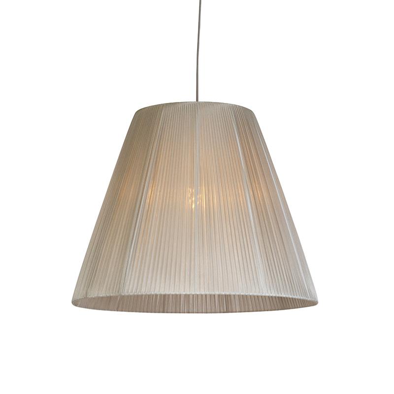 Moderne hanglamp met grijze kap - Olsen