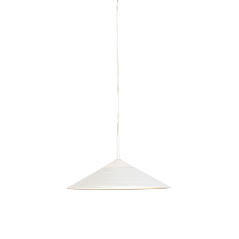 Moderne hanglamp wit incl. LED - Lupos