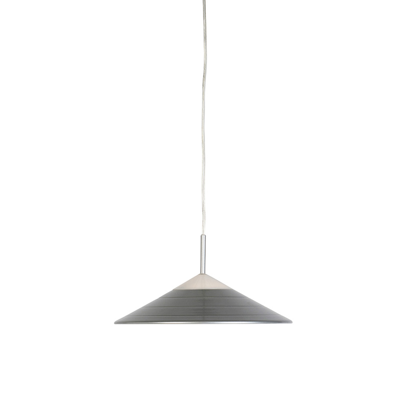 Moderne hanglamp grijs incl. LED - Lupos