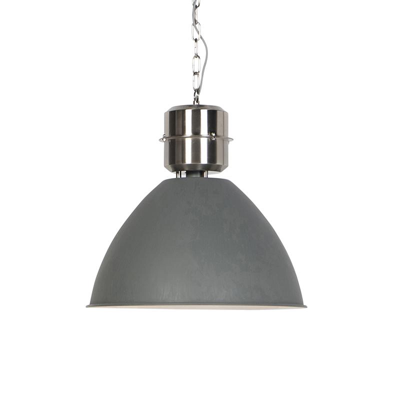 Industriele hanglamp betonlook - Flyn