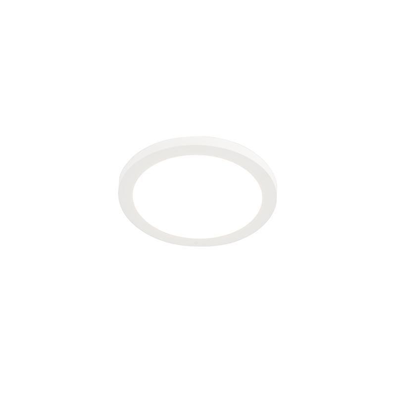 Paneel voor inbouw of opbouw wit 18W incl. LED - Trans