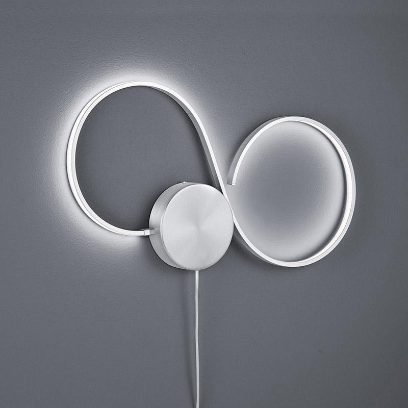 Moderne wandlamp staal incl. LED - Carpe