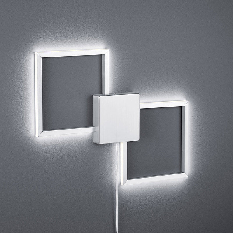Moderne wandlamp staal incl. LED - Carpo