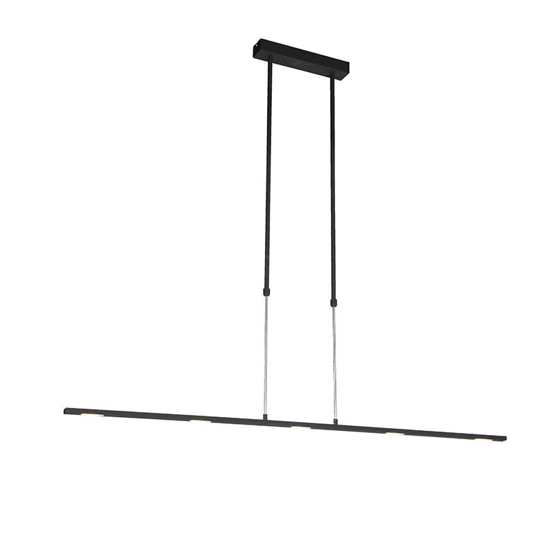 Moderne hanglamp LED zwart - Bold