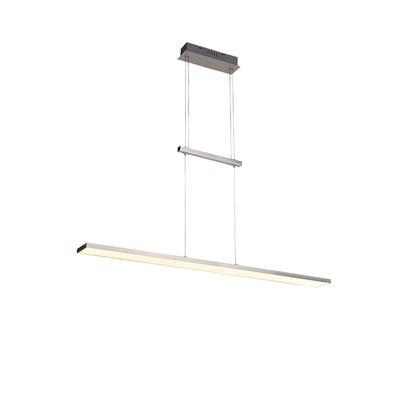 Moderne hanglamp staal incl. LED - Riley