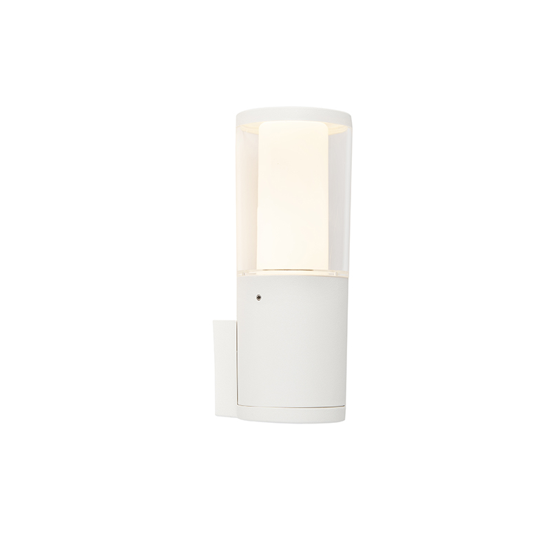 Moderne buitenwandlamp wit IP55 incl. GU10 - Carlo