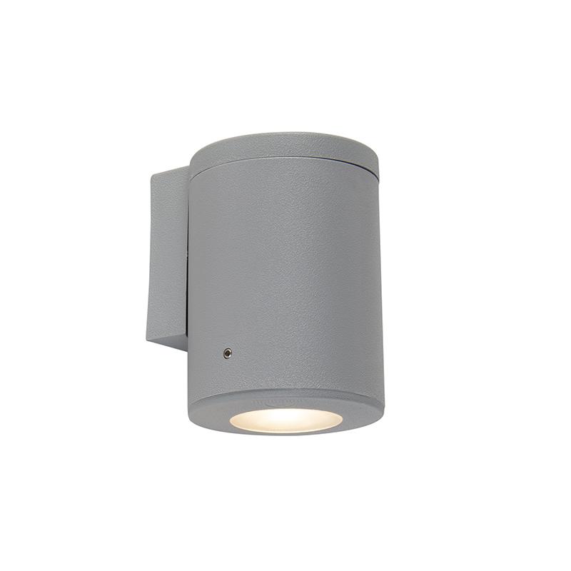 Moderne buitenwandlamp grijs IP55 incl. GU10 - Franca