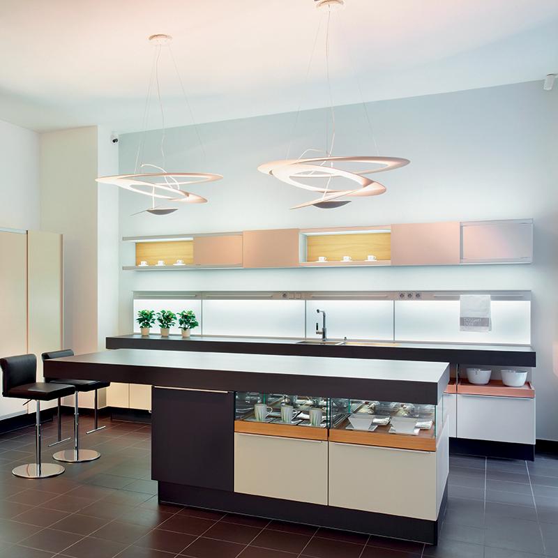 Design hanglamp wit 97 cm - Pirce Suspension