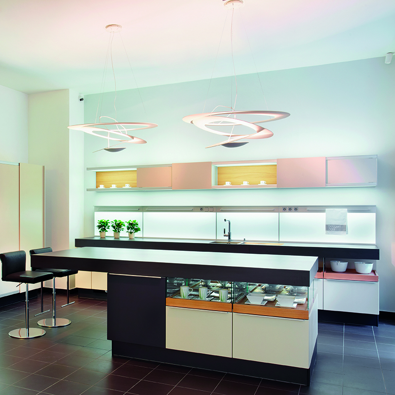 Design hanglamp wit - Pirce Suspension