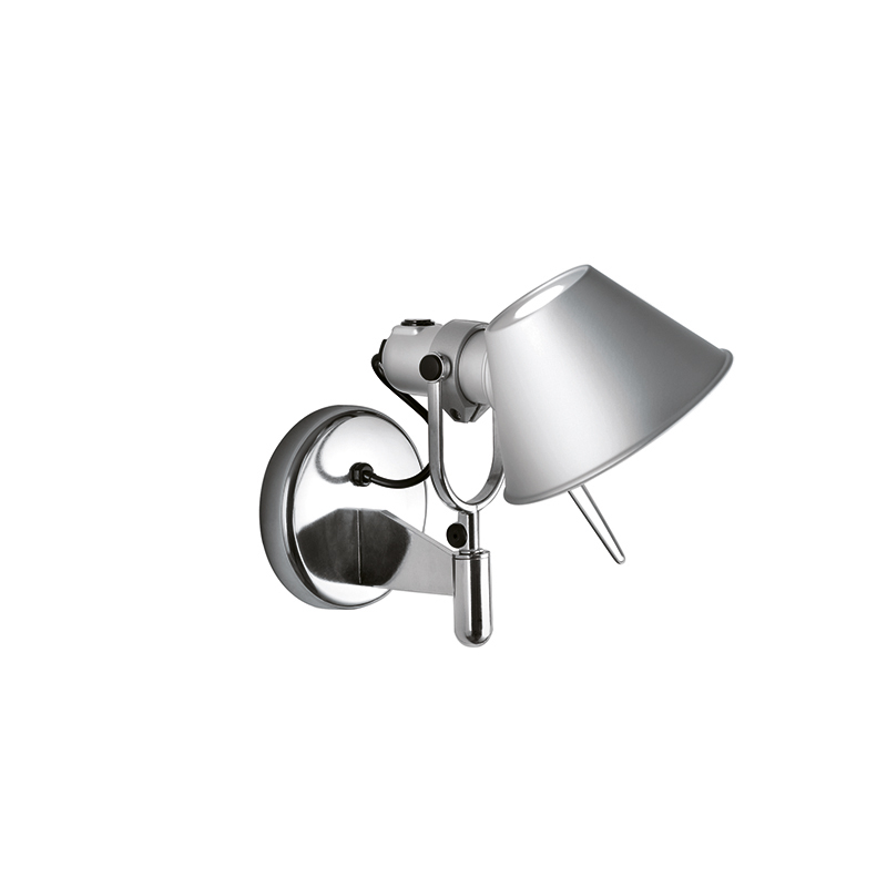 Artemide Tolomeo Faretto wandlamp aluminium