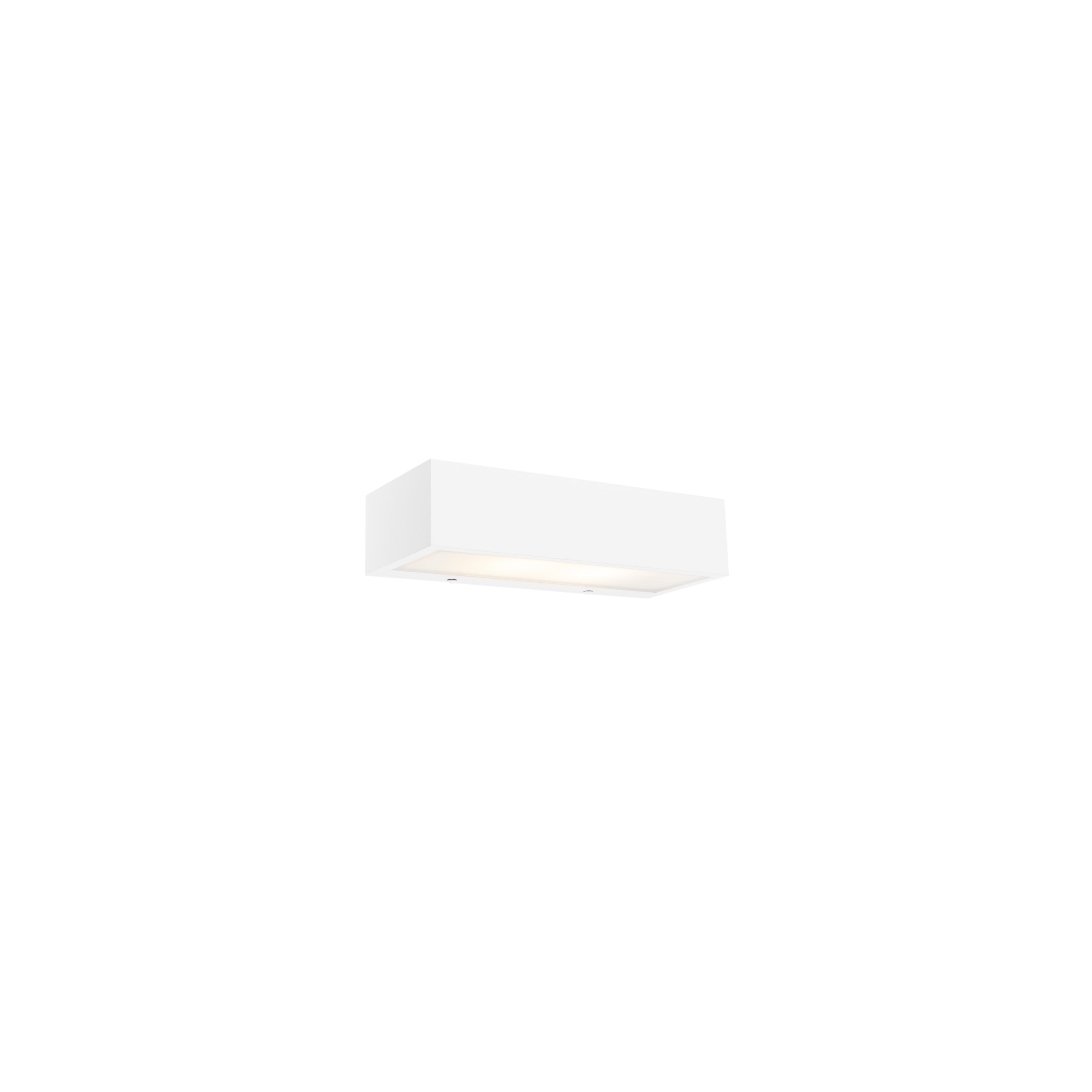 Designerski kinkiet podłużny biały 25cm - Houx