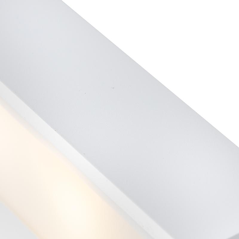 Immagine di Applique allungata bianco 25cm HOUX