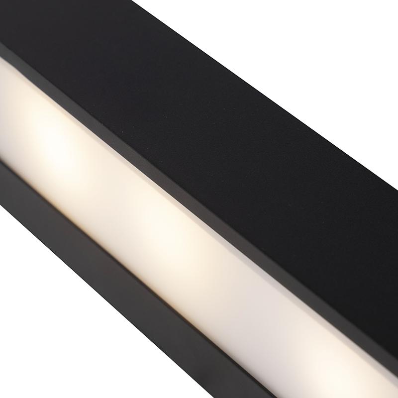 Immagine di Applique allungata nero 35cm HOUX
