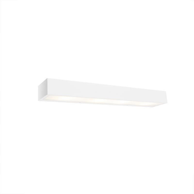 Immagine di Applique allungata bianco 60cm HOUX