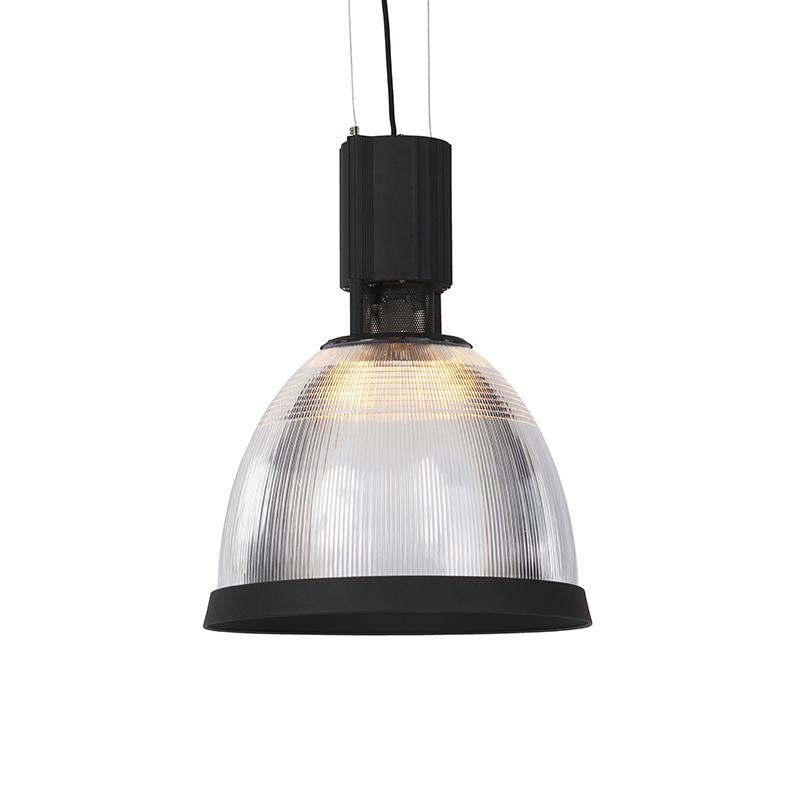 Industriële hanglamp zwart - Industry Rim
