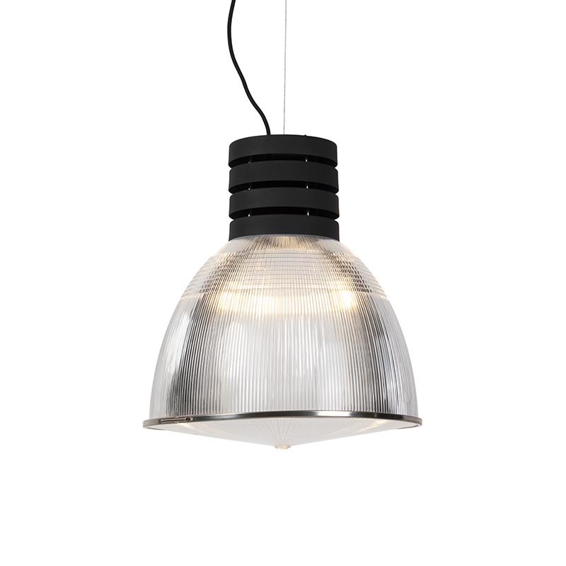 Przemysłowa lampa wisząca czarna - Przemysł
