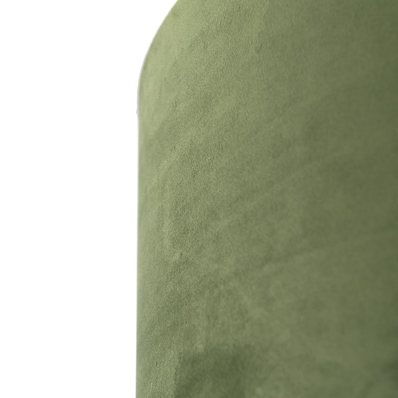 Lampenkap velours 50/50/25 groen – goud