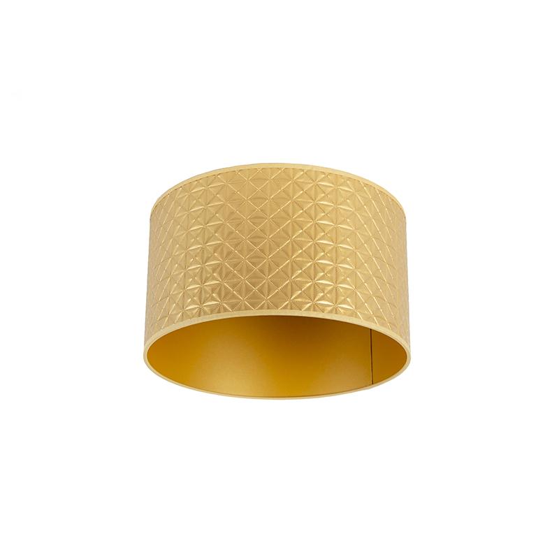 Lampenkap 35/35/20 goud triangle
