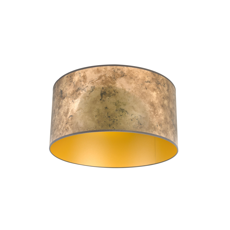 Lampenkap 50/50/25 oud brons - goud